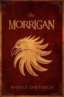 THE MORRIGAN Dark Cover Smaller