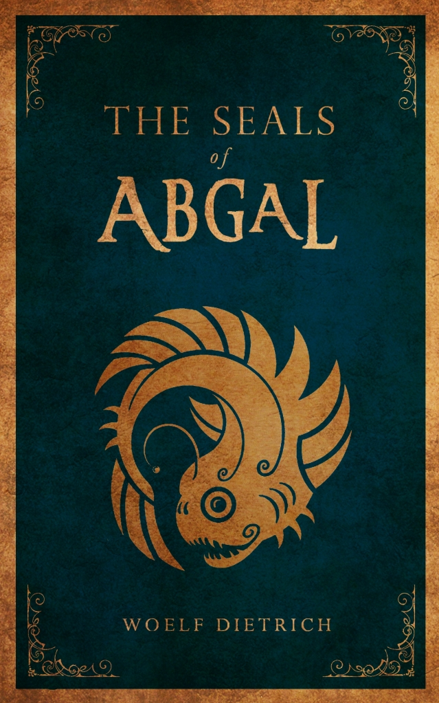 THE SEALS OF ABGAL print front