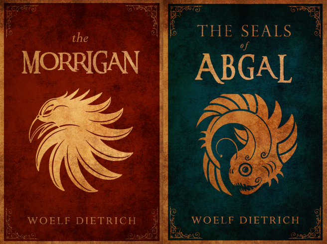 Covers for Guardians of the Seals