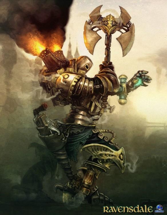 Art Of Fantasy 33 The Steampunk Edition Woelf Dietrich