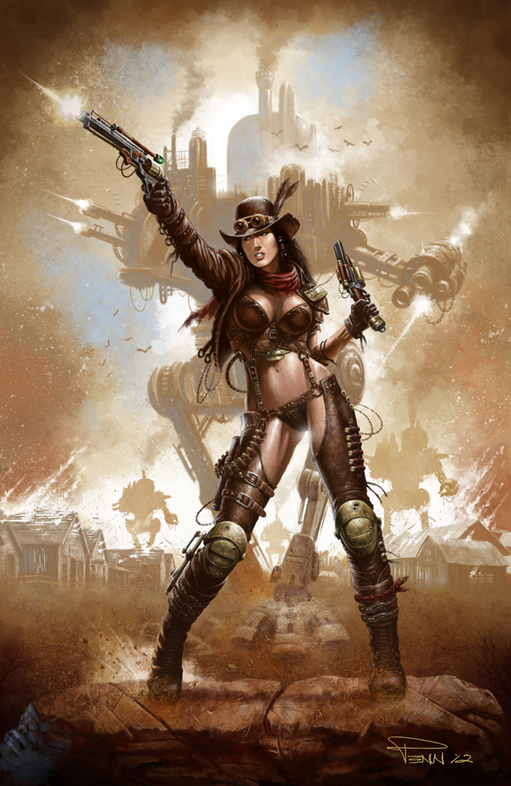 steampunk_cowgirl_by_madadman-d5neor8