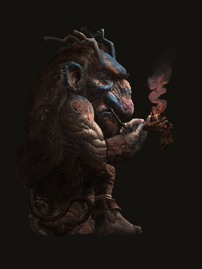 henrik-rosenborg-forest-troll