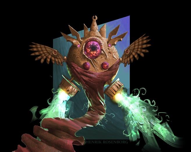 henrik-rosenborg-weird-owlish-guardian-thing