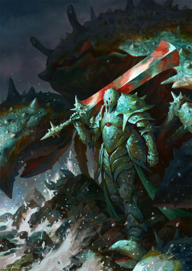 veli-nystrom-crustacean-warrior-velinystrom