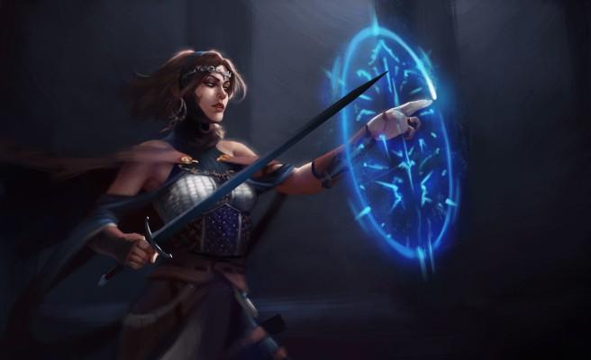 manuel-castanon-swordgirl